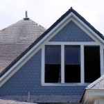 If I pretend a little, I'm done painting the dormer!