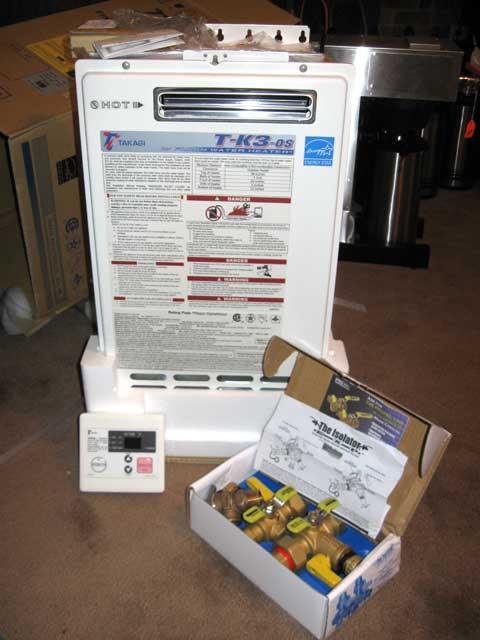 Takagi TK-3-OS-NG tankless water heater