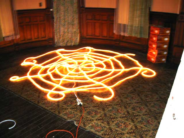Electric Spider web