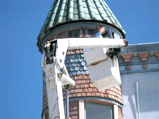 Removing old trim
