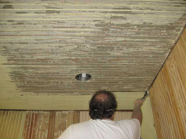 Re: Refinishing Porch Beadboard Ceiling, Any Thoughs?