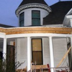 Porch Eave Repair