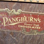 A Pangburns Candy display.