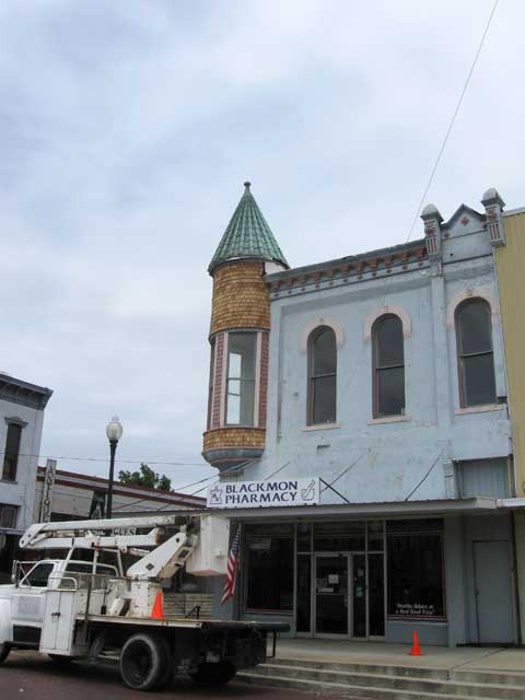 Our historic building on the Clarksville Square