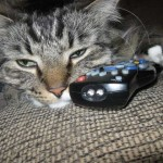 Controlling the remote control…