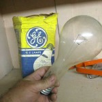 Random thought&#8230;damn big bulb&#8230;