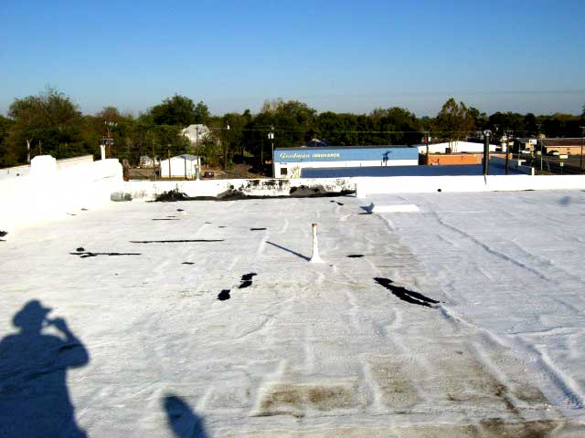 The roof of the Cupola building.