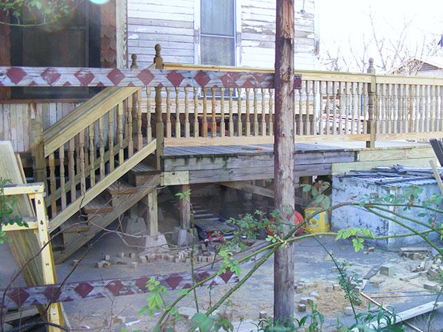 More railing progress