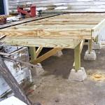 Deck work…