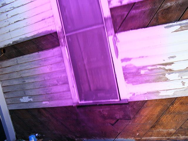 Significant siding repair