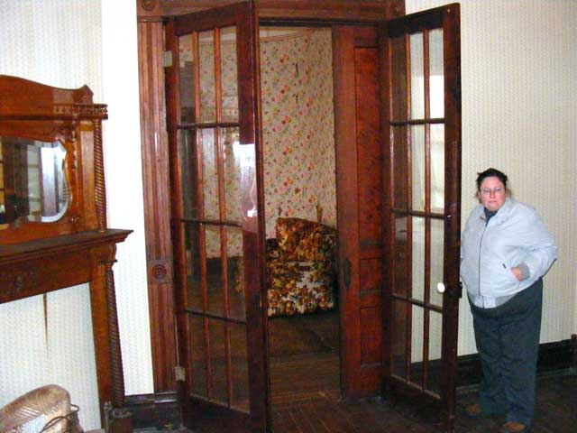 Massive French and pocket door