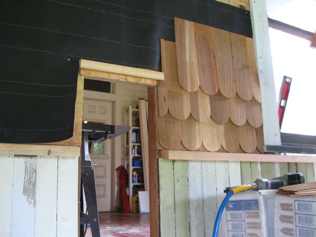 Ohw View Topic What Goes Under New Cedar Shake Siding