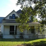 The Doak House, west view