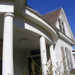 Porch Eave Repair
