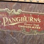 A Pangburns Candy display.
